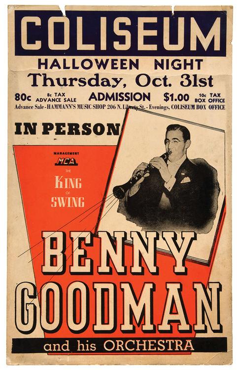 Image result for benny goodman halloween