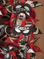 """ZORRO"" MUSICAL PINWHEELS FULL CARTON."