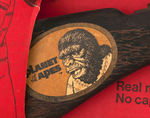 """PLANET OF THE APES - TOMMY-BURST WITH APE MASK"" BOXED SET."