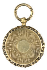WILLIAM HENRY HARRISON OUTSTANDING UNLISTED 1840 PORTRAIT PENDANT.