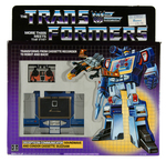 TRANSFORMERS GENERATION 1 DECEPTICON SOUNDWAVE & BUZZSAW FACTORY-SEALED IN BOX.