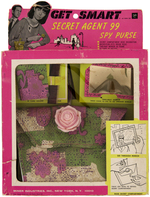 """GET SMART SECRET AGENT 99 SPY PURSE"" BOXED SET."