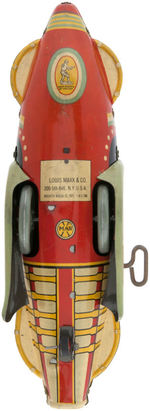 """BUCK ROGERS ROCKET SHIP"" BOXED MARX WIND-UP."