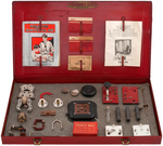 "GILBERT ""THE NEW ERECTOR ELECTRICAL SET"" BOXED 1933 SET."
