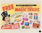 AMANA 100 FAMOUS MAGIC TRICKS PREMIUM PROTOTYPE ORIGINAL ART LOT. Comic Art