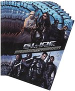 GI JOE RISE OF COBRA STORE MERCHANDISING MATERIALS.