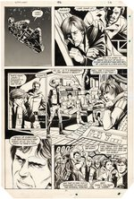 """STAR WARS"" #92 COMIC BOOK PAGE ORIGINAL ART BY JAN DUURSEMA."