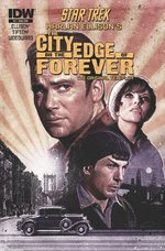 """STAR TREK: CITY ON THE EDGE OF FOREVER"" ORIGINAL ART BY J.K. WOODWARD & SIGNED BY JOAN COLLINS."