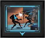 """THE NEW BATMAN ADVENTURES - RETURN OF NIGHTWING"" FRAMED LIMITED EDITION ANIMATION CEL."