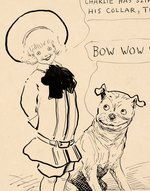 BUSTER BROWN AND TIGE SPECIALTY ORIGINAL ART BY R.F. OUTCAULT.