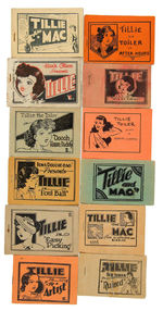 """TILLIE THE TOILER"" SET OF ELEVEN 8-PAGERS."