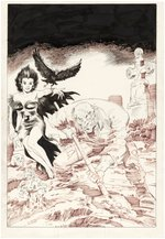 "JOE STATON & GRAY MORROW ""GRAVE TALES"" HAMILTON COMICS HORROR ORIGINAL ART."