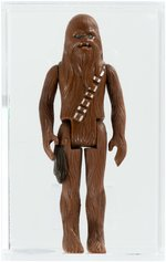"""STAR WARS - LOOSE ACTION FIGURE/HK CHEWBACCA ENGINEERING PILOT ACTION FIGURE AFA 75 EX+/NM."