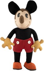 MICKEY MOUSE LARGE KNICKERBOCKER DOLL.