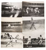 BROOKLYN SUPERBAS C.1908-1910 LOT OF 50 DIFFERENT ORIGINAL PHOTOS.