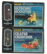 """MICRONAUTS"" MEGO & TAKARA INTER-CHANGEABLES ACTION FIGURES & VEHICLES LOT."
