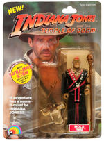 """INDIANA JONES AND THE TEMPLE OF DOOM"" FIGURE SET OF FIVE BY LJN."