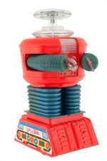 """LOST IN SPACE MOTORIZED ROBOT"" BOXED COLOR VARIETY REMCO TOY."