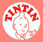 """TIN TIN"" BADGE FROM LEVIN COLLECTION."