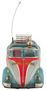 """SPACE PATROL"" BOXED VOLKSWAGEN BATTERY-OPERATED CAR."