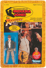 """THE ADVENTURES OF INDIANA JONES IN RAIDERS OF THE LOST ARK"" INDIANA JONES ACTION FIGURE ON CARD."