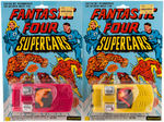"""FANTASTIC FOUR/CAPTAIN AMERICA"" TOY TRIO."