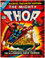 """THE MIGHTY THOR MARVEL TREASURY EDITION"" MULTI-SIGNED COMIC BOOK."