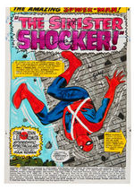 """THE AMAZING SPIDER-MAN"" ORIGINAL MARIE SEVERIN COLOR GUIDE LOT."