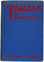 """TARZAN THE MAGNIFICENT"" EDGAR RICE BURROUGHS SIGNED FIRST EDITION BOOK."