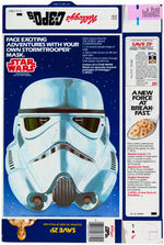 "KELLOGG'S C-3PO'S"" CEREAL STANDEE DISPLAY AND BOX FLAT TRIO."
