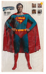 """SUPERMAN THE MOVIE"" CHRISTOPHER REEVE STANDEE LOT."