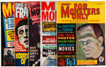 MONSTER MAGAZINE LOT.