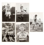 """GRAND RAPIDS CHICKS"" ALL-AMERICAN GIRL PROFESSIONAL BASEBALL LEAGUE NEWS SERVICE PHOTO LOT."