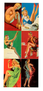 """ARTIST PIN-UP GIRLS"" MUTOSCOPE CARD SET."