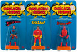 """MEGO COMIC ACTION HEROES"" ACTION FIGURE TRIO."