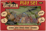 "IDEAL ""OFFICIAL BATMAN PLAY SET."""