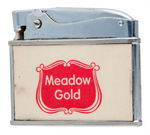 "LOS ANGELES DODGER DON DRYSDALE ""MEADOW GOLD"" DAIRY LIGHTER."