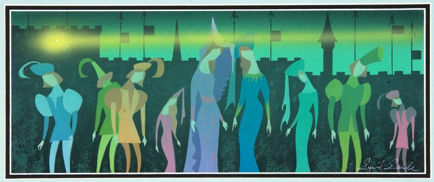 Eyvind Earle Concept Art