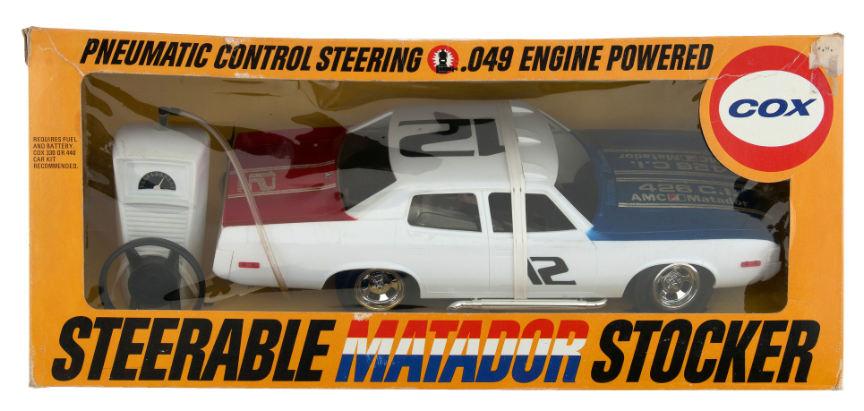 Cox Fuel Tank Reproduction Matador Stocker Action Van Adam 12 Patrol Car