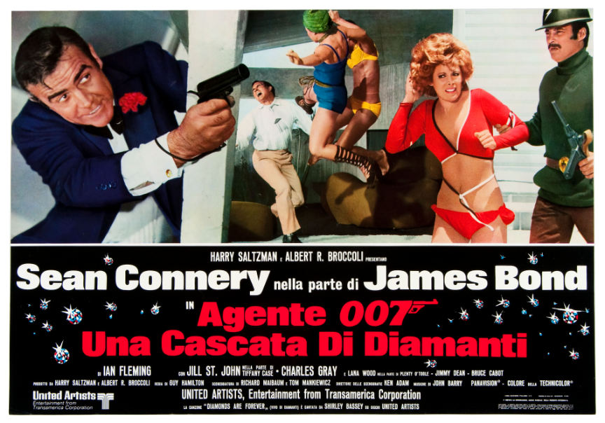 Image result for diamonds are forever poster