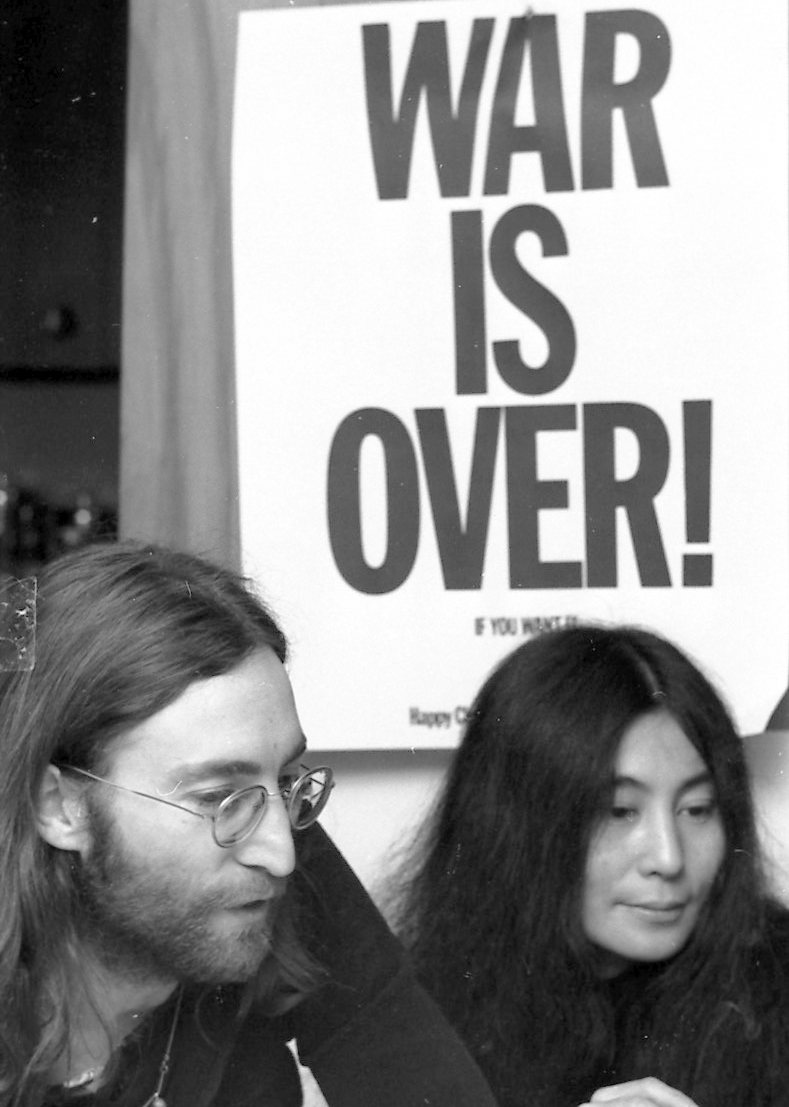 Hake S War Is Over John Lennon Yoko Ono Iconic World Peace Promo Poster