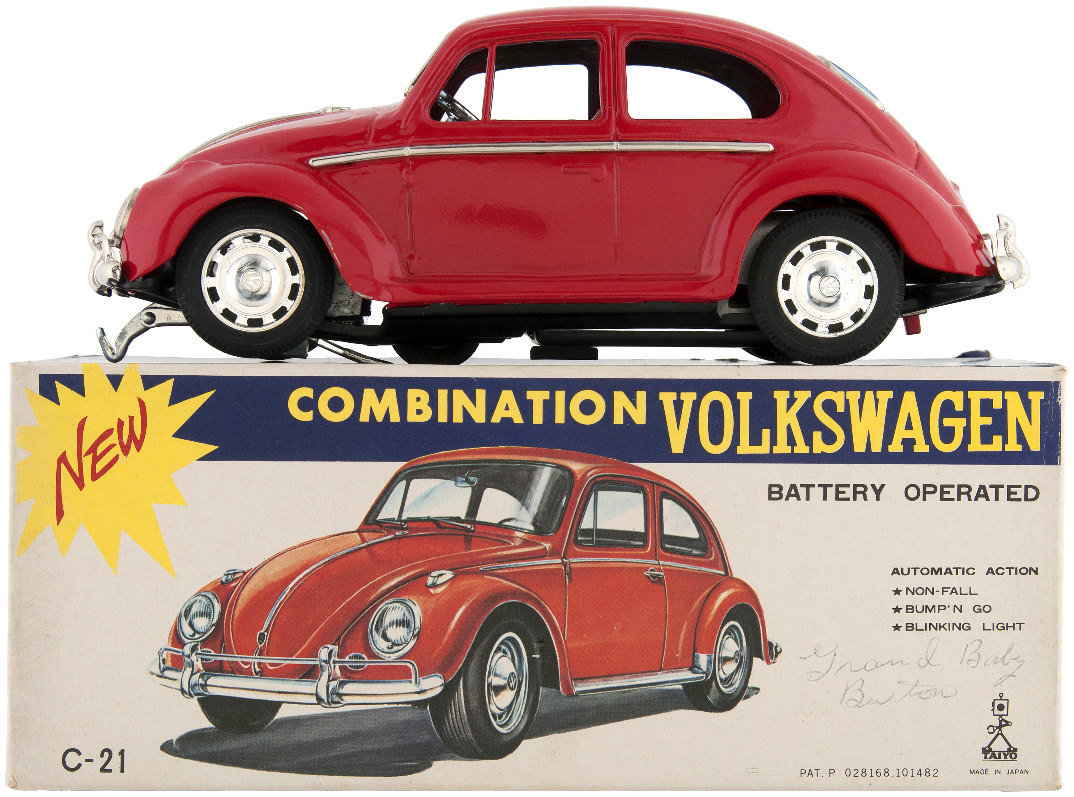 Combination Volkswagen Boxed Battery Operated