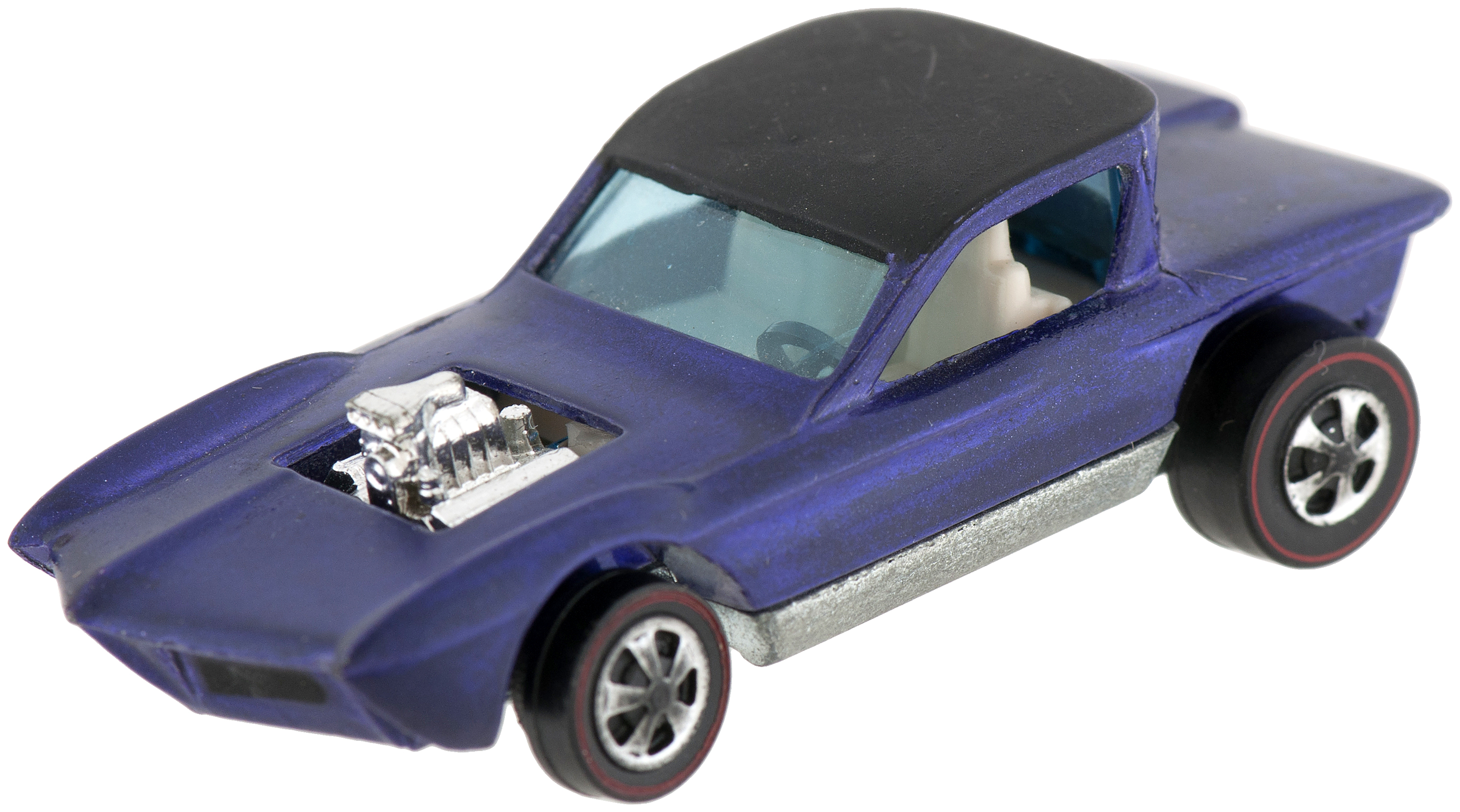 Hake's - HOT WHEELS BOXED STRIP ACTION SET W/PURPLE PYTHON