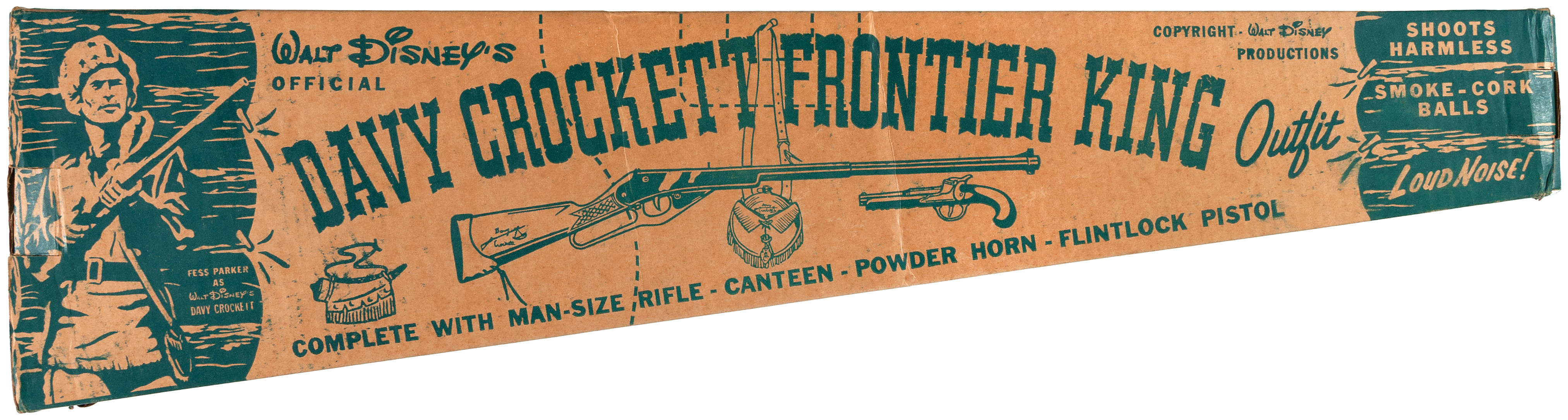Image result for 1955 Davy Crockett Frontier King Outfit