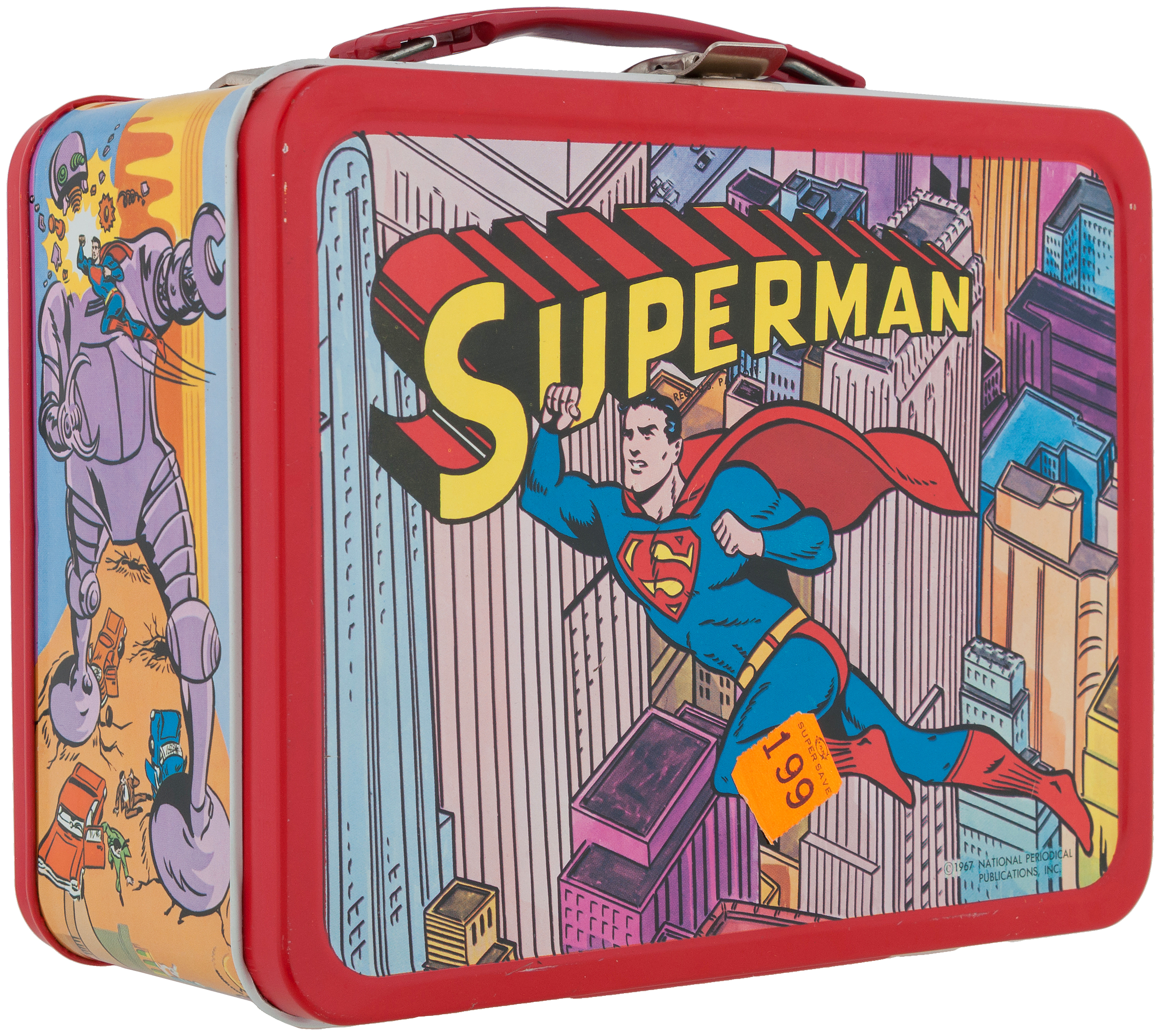 Superman LunchBag Lunch Box New
