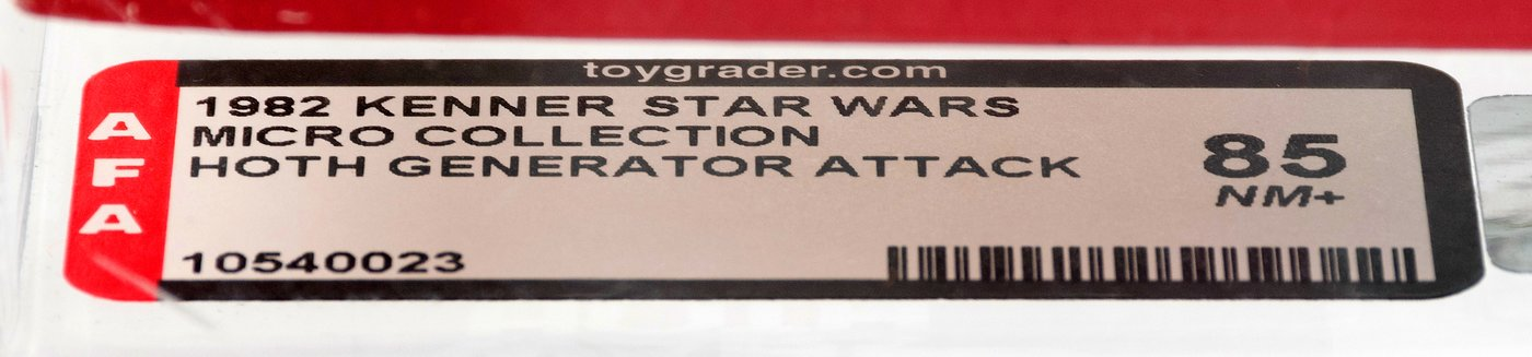 Hakes Star Wars Micro Collection Hoth Generator Attack Action