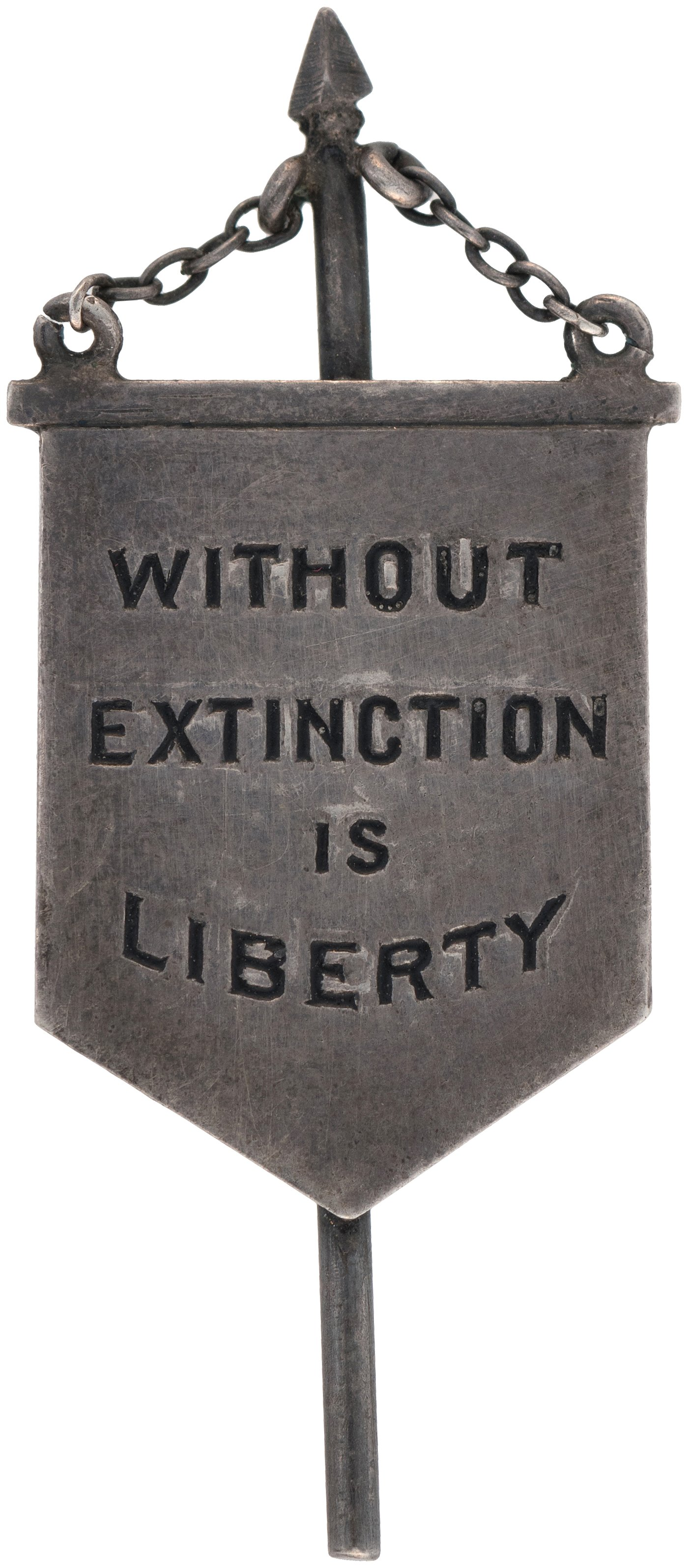 Image result for without extinction is liberty pin nwp