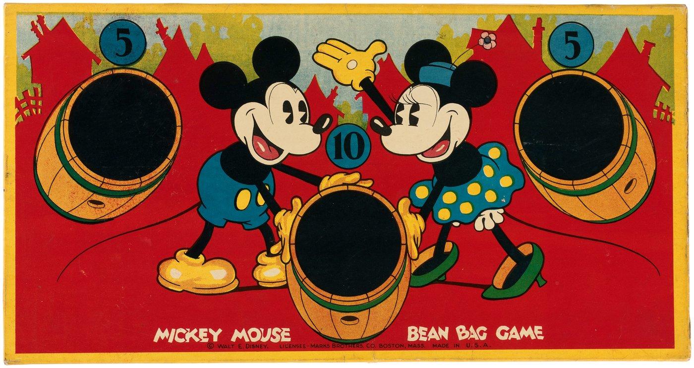 Hake S Mickey Mouse Bean Bag Game