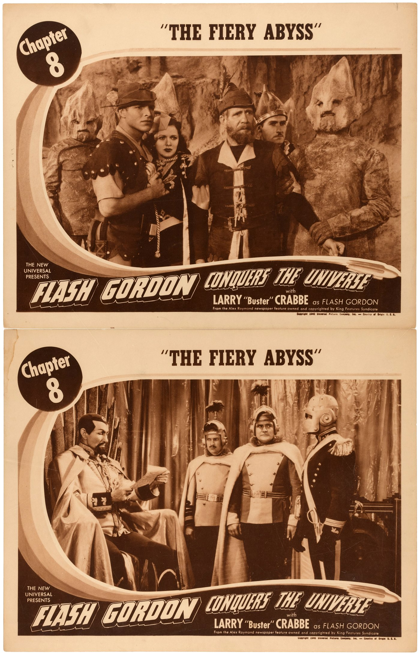 Hakes Flash Gordon Conquers The Universe Movie Serial Lobby Flasher Flaser Sen 12 Volt Universal Auctions