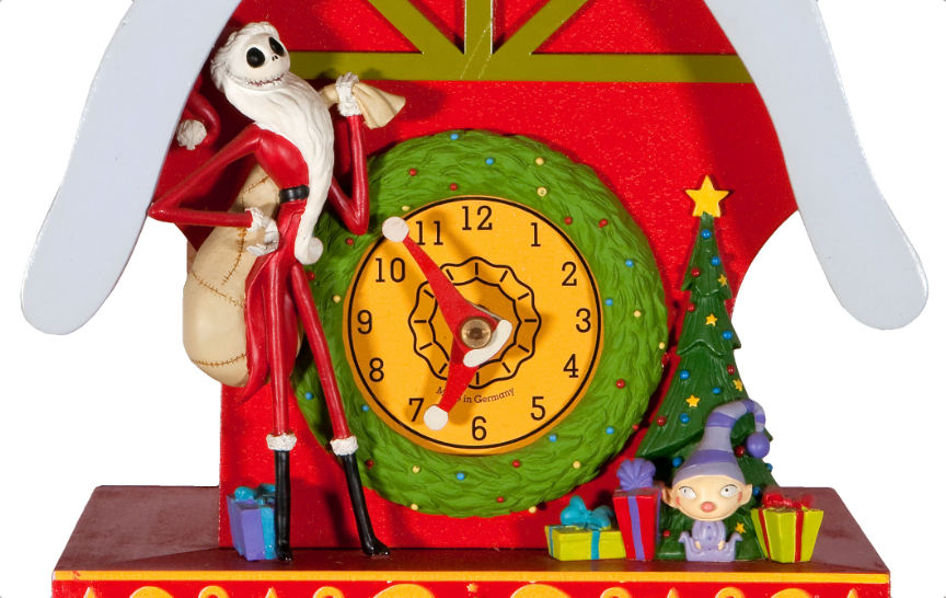 hakes auctions - Nightmare Before Christmas Clock